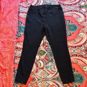 Distressed Tall Black Skinny Torrid Jeans
